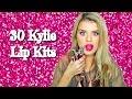 30 shades of kylie lip kits