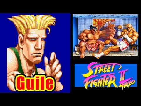 Guile - STREET FIGHTER II Turbo for SFC/SNES