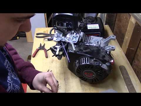 How to remove the governor on a Predator 6.5 HP 212cc OHV Horizontal Shaft Gas Engine