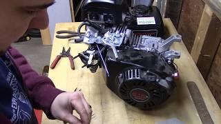 how to remove the governor on a predator 6 5 hp 212cc ohv horizontal shaft gas engine