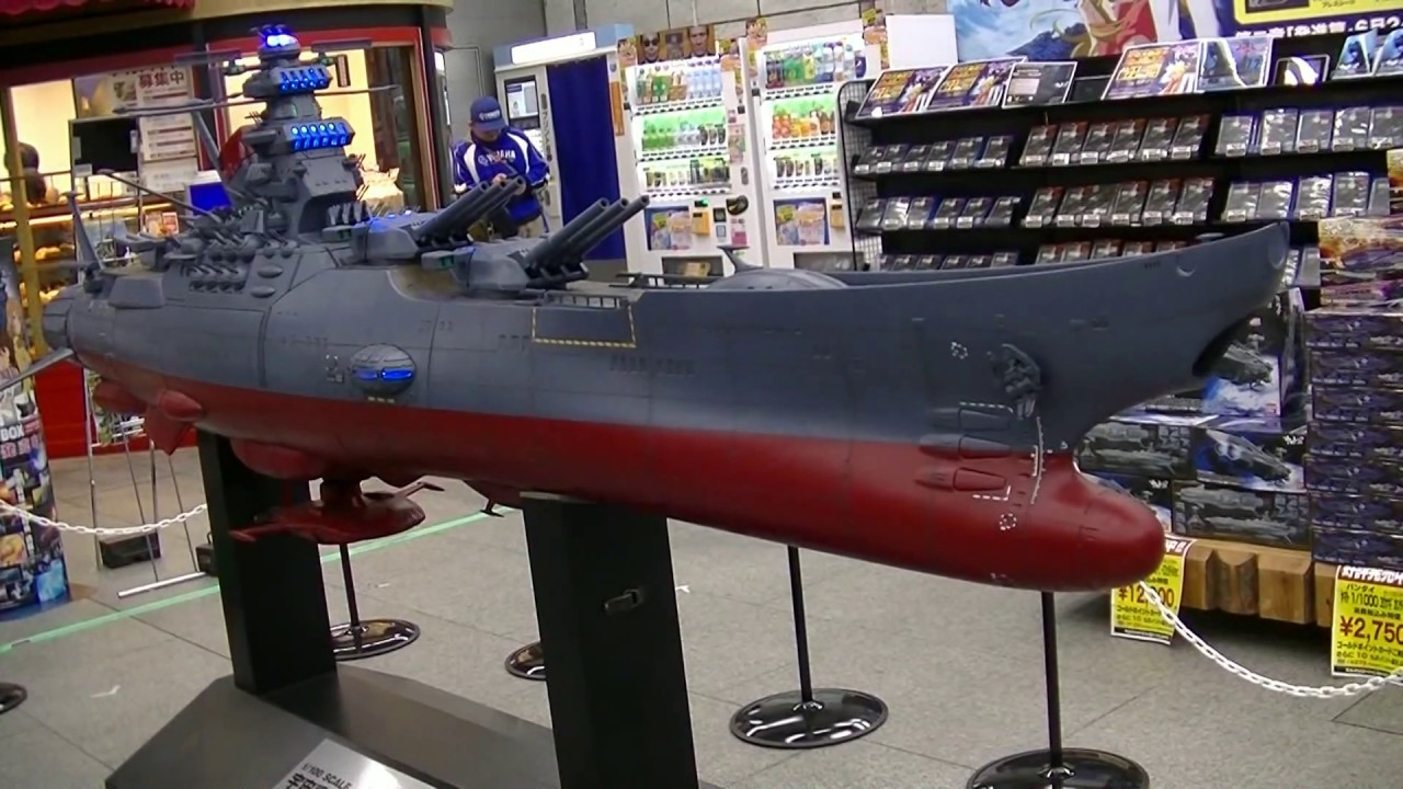 1/100 Scale - Space Battleship Yamato (Star Blazers) - 宇宙戦艦ヤマト @ Yodobashi  Camera Akiba