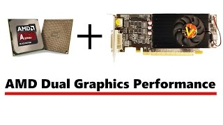 amd dual graphics performance a10 7870k and r7 250