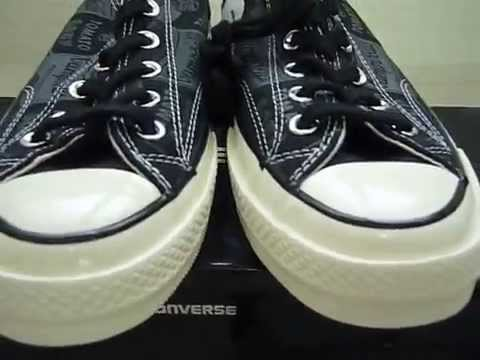 56ed6948fc7 Converse Chuck Taylor All Star  70 Ox Andy Warhol - YouTube
