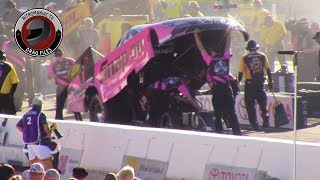 2017 NHRA Toyota Nationals @ LVMS (Part 19 - Nitro Funny Car Saturday Afternoon Qualifying)