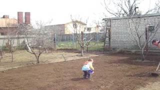 видео Газонная сетка