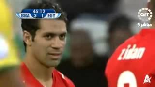 ملخص مباراة البرازيل ومصر 4 3  كأس القارات 2009  عصام الشوالي