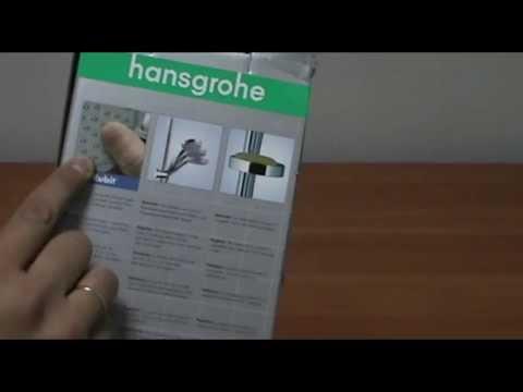 Душевая штанга HANSGROHE Сromа 100 Vario 27772000