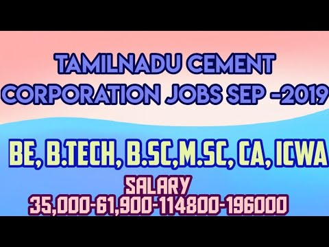 Bsc, MSc, BE, B.tech, CA, ICWA Jobs In Tamilnadu