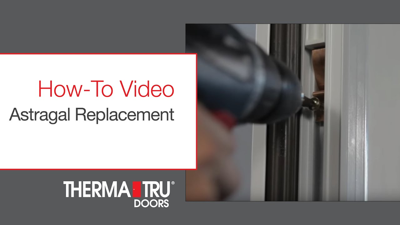 Replace Doors How To Replace Door Astragal