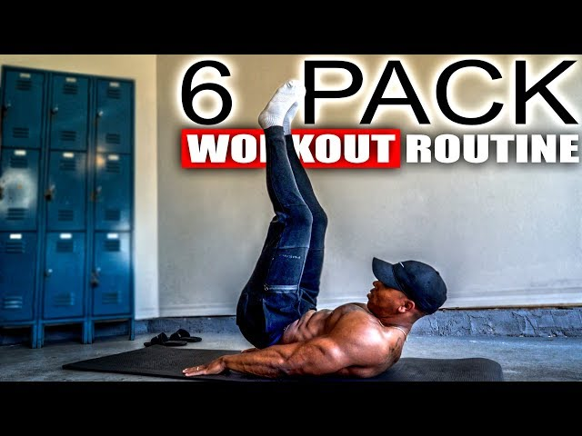 10 MINUTE 6 PACK ABS WORKOUT (NO EQUIPMENT)