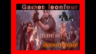 Resident evil 4 survive in hell (dificuldade pró) parte 1