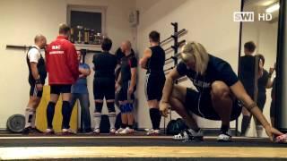 Gewichtheben in Schwechat-Mannswörth