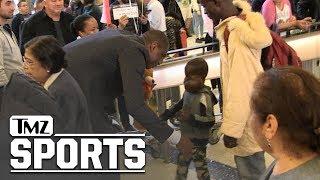 Dikembe Mutombo Flies Boy w/ Large Tumor to U.S. for Surgery (Heartwarming Video)