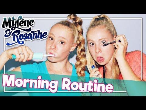 MORNING ROUTINE - MYLÈNE & ROSANNE