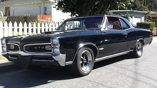 Old Start The 1966 GTO