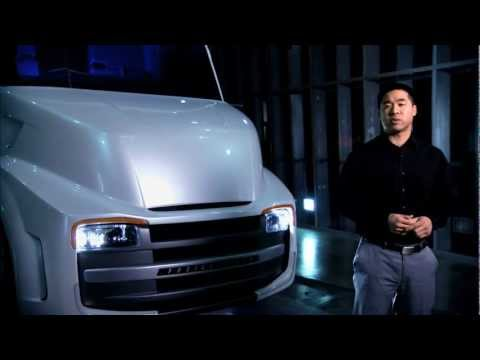 The Building of the Freightliner Revolution Innovation Concept Truck