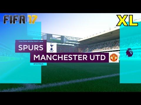 FIFA 17 - Tottenham Hotspur vs. Manchester United @ White Hart Lane (XL Match)