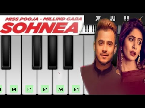 Sohnea Song Piano  Tu Hi Meri Duniya Jahan Ve Piano Tutorial  Jane Meriye Piano  Millind Gaba