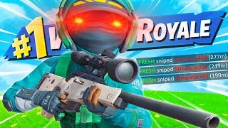 Why they call me the best sniper in Fortnite...