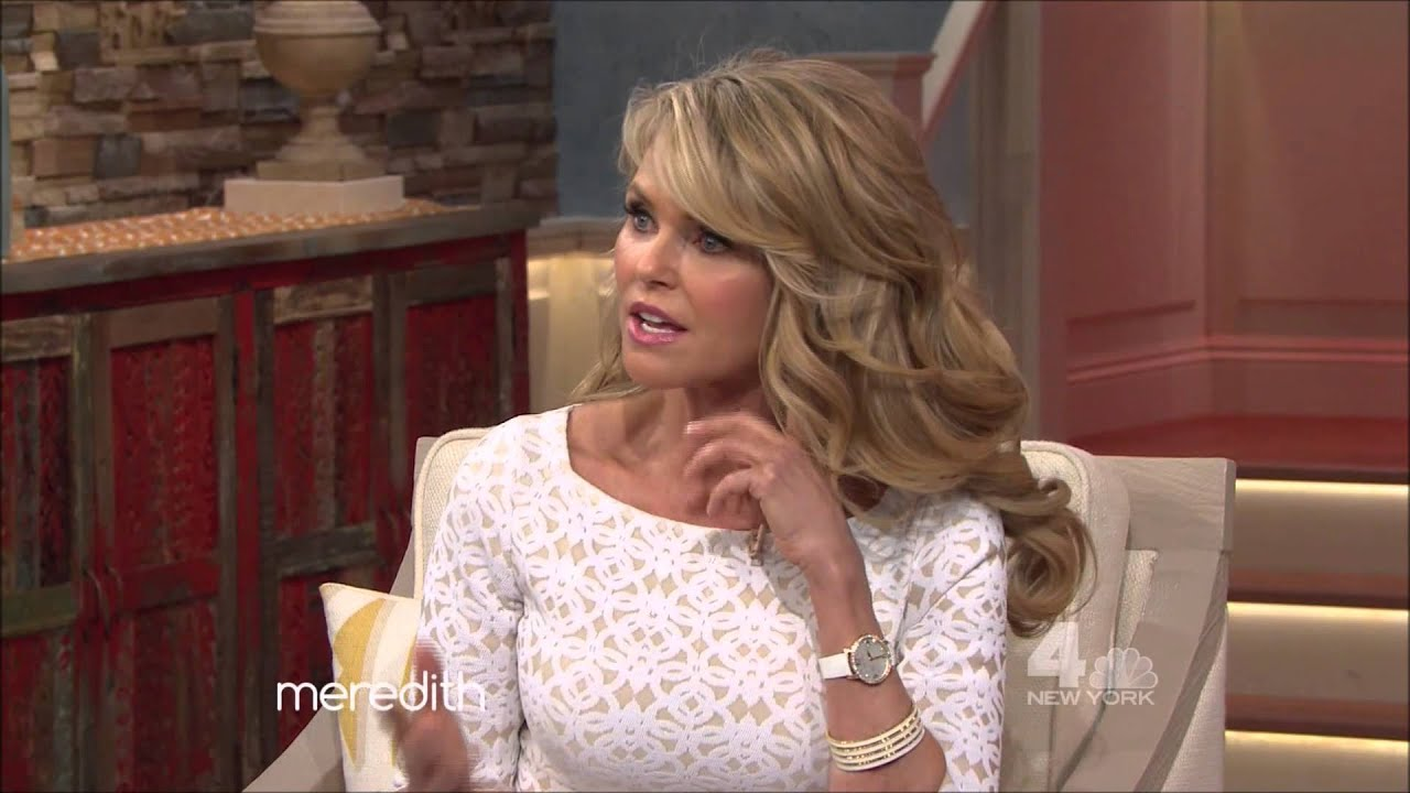 Christie Brinkley The Meredith Vieira Show 2015 03 30 Youtube