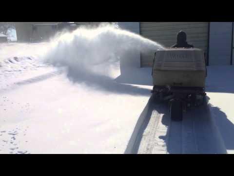 2014 Walkers mower with snowblower | Doovi