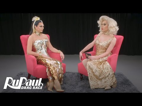 The Pit Stop: Season 3 Episode 1: 'Manila Luzon Spills the Tea' | RuPaul's Drag Race All Stars 3