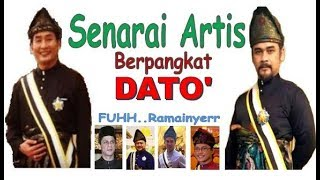 Wahh.. Ramainya Artis2 dapat Title Dato dari Pahang..Apa2 pun, Tahniah
