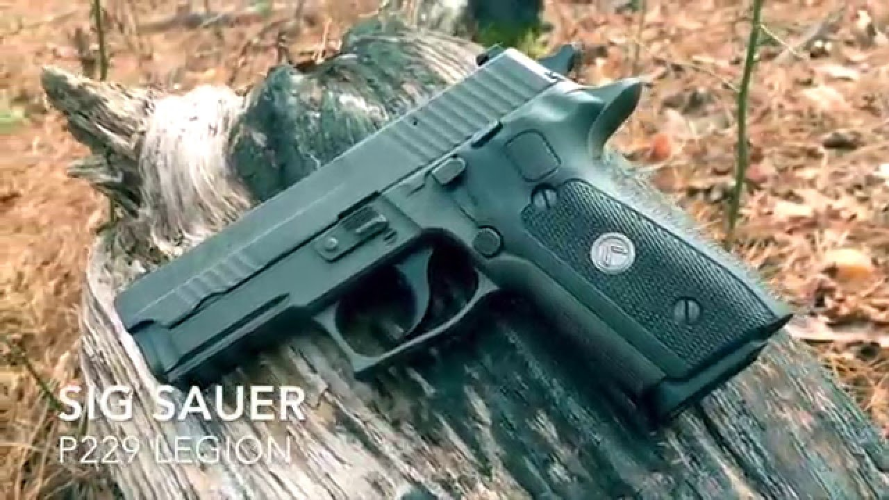 sig sauer p229 legion review youtube