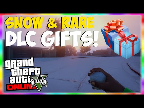 GTA 5 Online: SNOW IS BACK! Rockstar Holiday DLC Gifts & Snow Gameplay!
