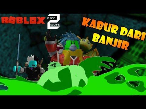 Roblox Indonesia | Flood Escape 2 | Kabur Dari Banjir NOOOOO!!! 😱