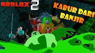 ROBLOX Indonesia | Flood Escape 2 | Escape the NOOOOO flood!!! 😱