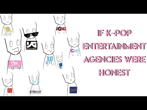 If Kpop entertainment agencies were honest  (honest crack)