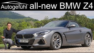 All-new BMW Z4 FULL REVIEW M40i G29 2019 - sibling of Toyota Supra