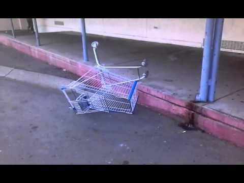 Kris fails airing a shopping cart