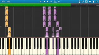 Rod Stewart - Maggie May - Piano Tutorial - Synthesia Cover