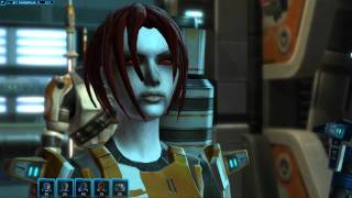 Tier  4 /Dark IV Sith Corruption On A Republic Human Female In Star Wars The Old Republic (swtor)