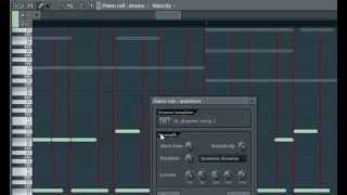 FL Studio 10. Оживление партий 2. Quantize