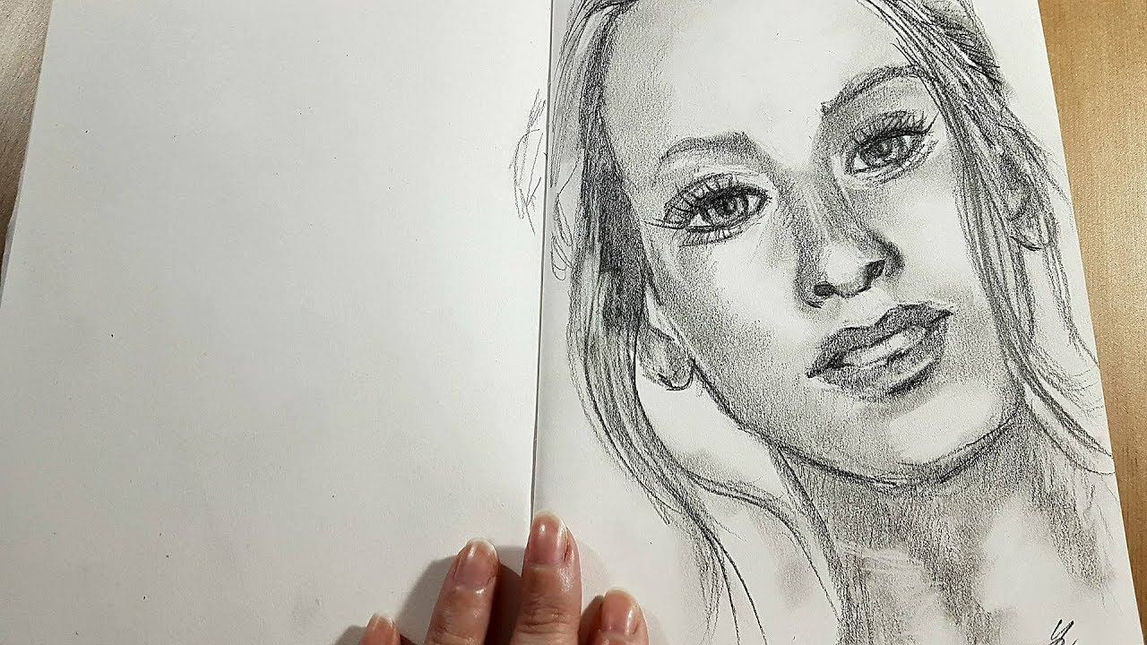 Portret Kresba A Malba Zive Vysilani Youtube