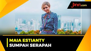 Sumpah Serapah Maia Estianty Jadi Sorotan - JPNN.com