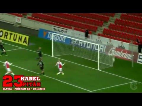 Slavia Praha - góly (podzim 2015)