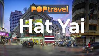 Walking in HAT YAI / Thailand 🇹🇭- 4K 60fps (UHD)
