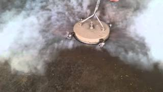 Jetclenz Pressure Washing - Greasy Dirty Workshop Hot Floor Cleaning