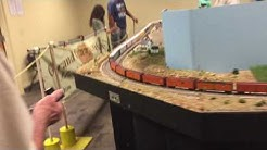 Mesa public library train exhibit