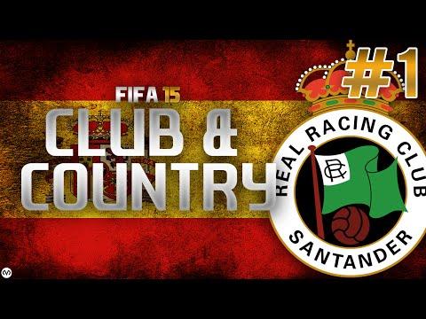 FIFA 15 | Club & Country | #1 | Racing Santander