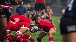 Justine Pelletier: La quart arrière du Rouge et Or Rugby