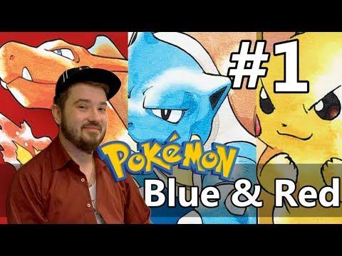Český Let's play - Pokemon Red & Blue - #1 Holubí apokalypsa