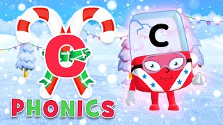 Phonics - Learn to Read | The Letter 'C' | Christmas Countdown 2019 | Alphablocks