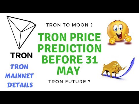 Tron price to moon ? mainnet details   tron future buy sell or hold ?