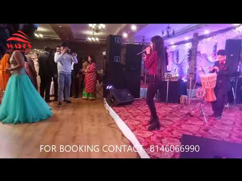 RUPALI JAGGA LIVE IN AGRA (PRIVATE  EVENT) I WAVES EVENT MANAGEMENT I