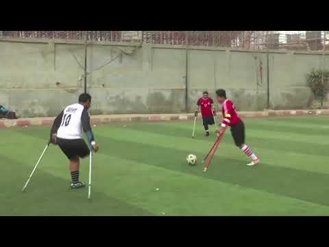 Meet the one-legged footballer making headlines in Cairo.